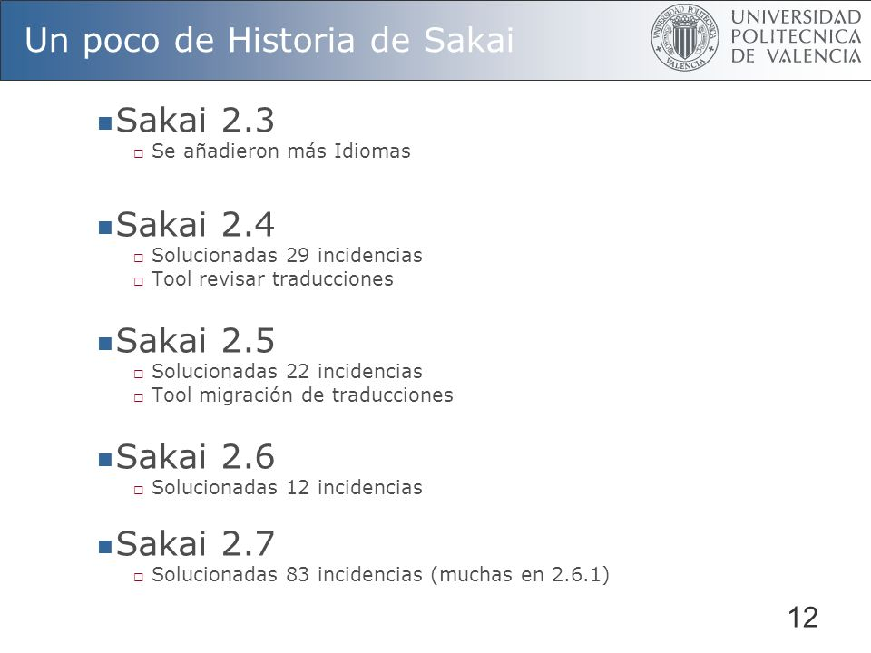 Un poco de Historia de Sakai