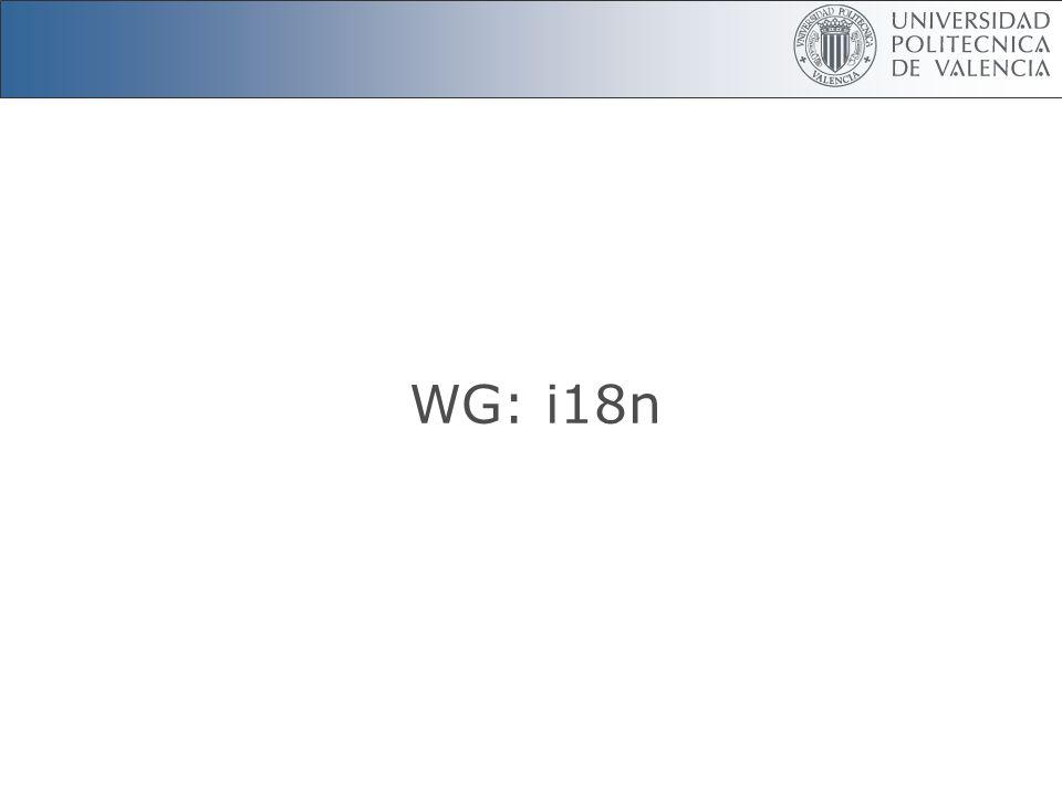 WG: i18n