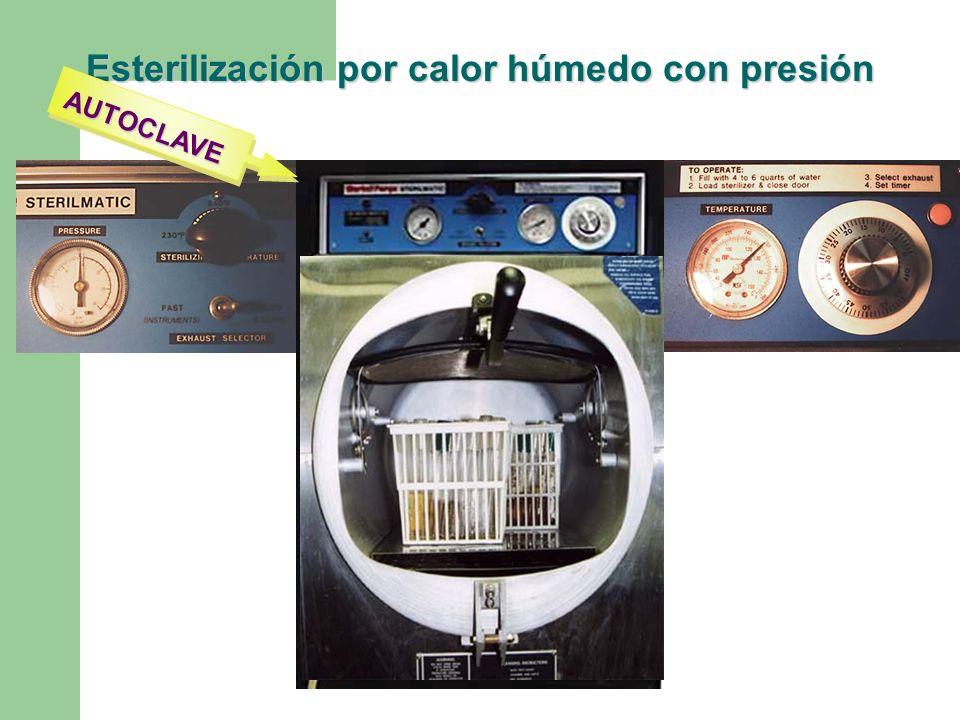 Esterilización por calor húmedo con presión