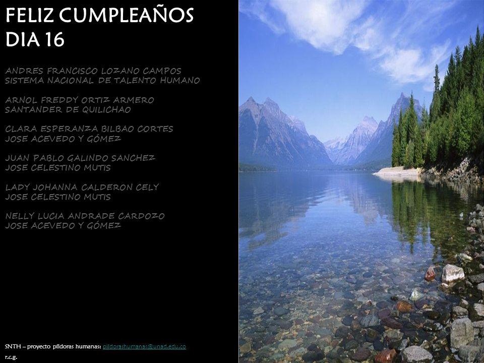 FELIZ CUMPLEAÑOS DIA 16 ANDRES FRANCISCO LOZANO CAMPOS
