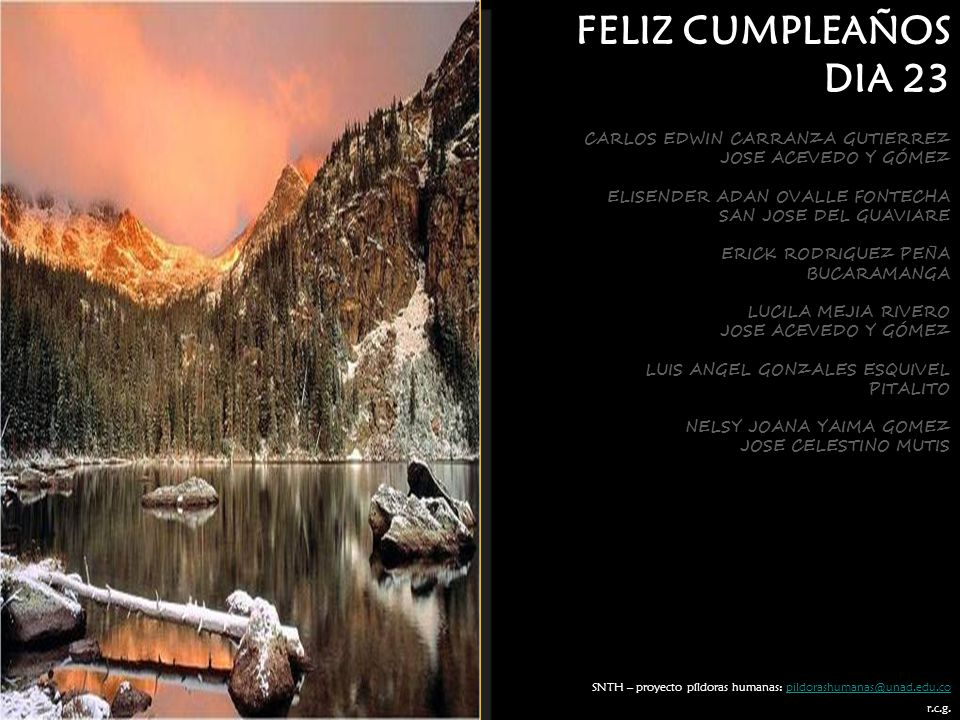 FELIZ CUMPLEAÑOS DIA 23 CARLOS EDWIN CARRANZA GUTIERREZ