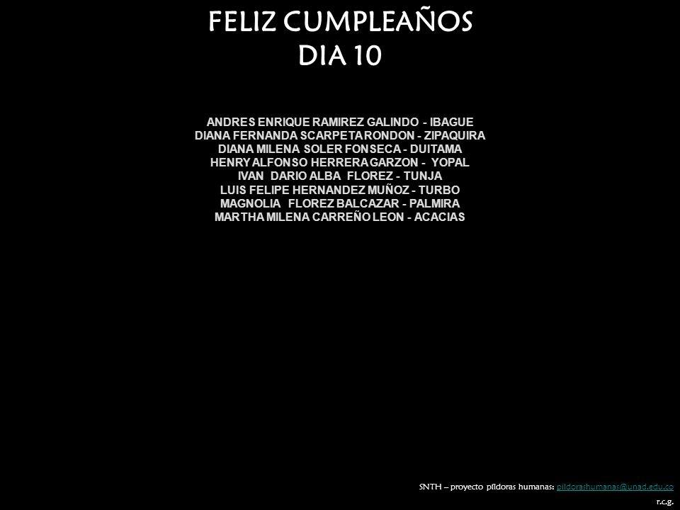FELIZ CUMPLEAÑOS DIA 10 ANDRES ENRIQUE RAMIREZ GALINDO - IBAGUE