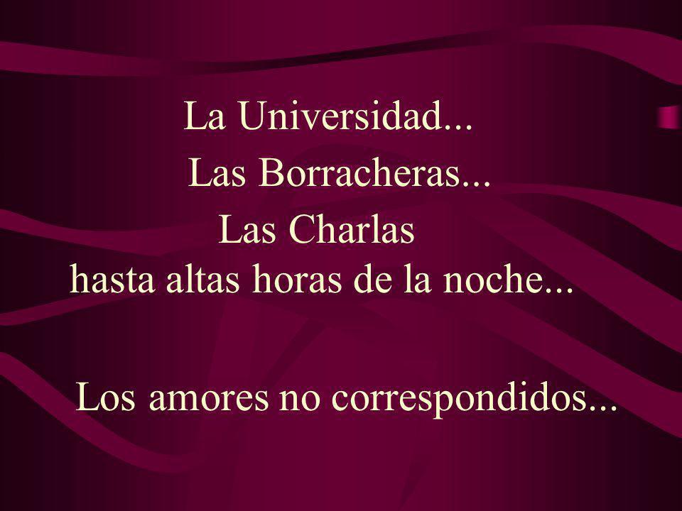 Los amores no correspondidos...