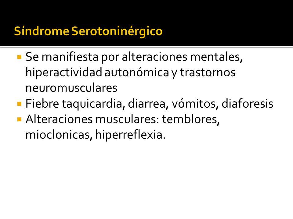 Síndrome Serotoninérgico