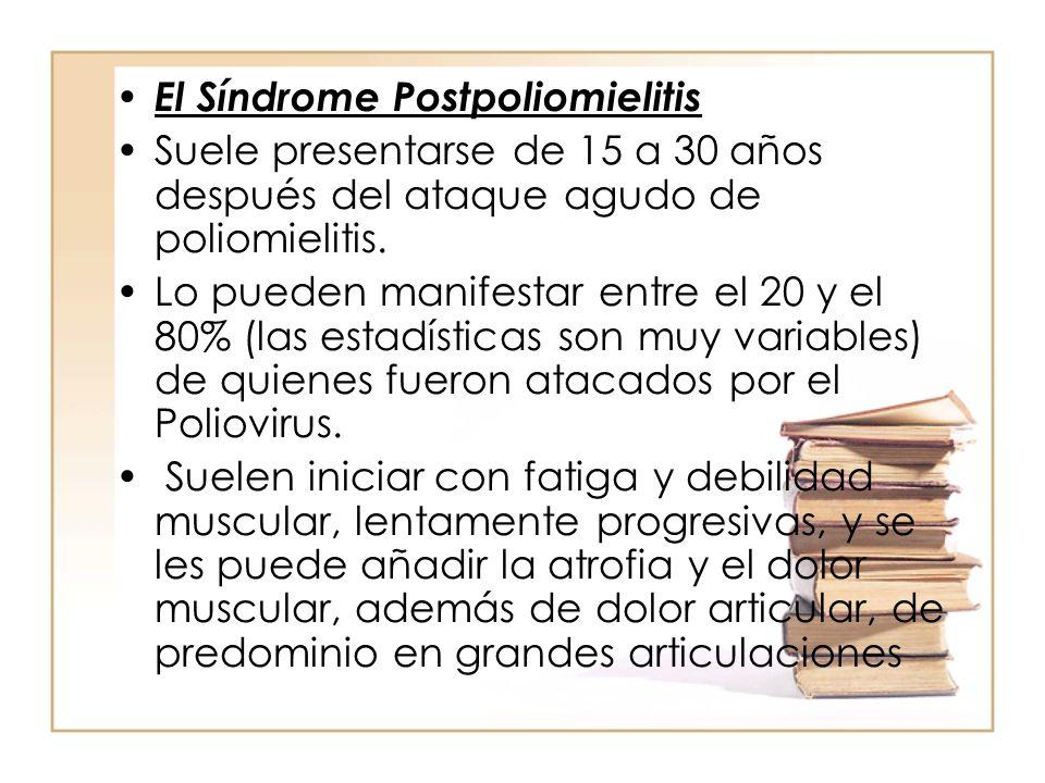 El Síndrome Postpoliomielitis