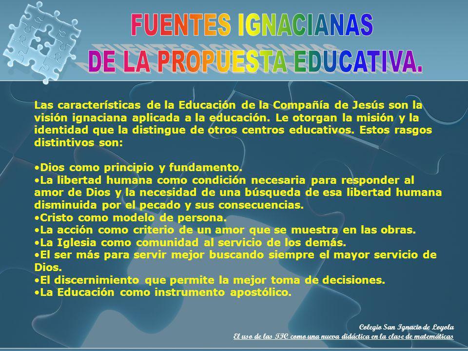 DE LA PROPUESTA EDUCATIVA.
