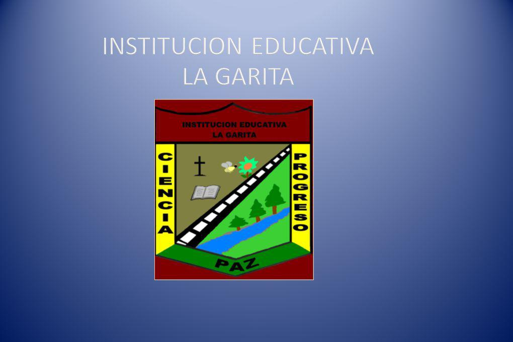 INSTITUCION EDUCATIVA LA GARITA