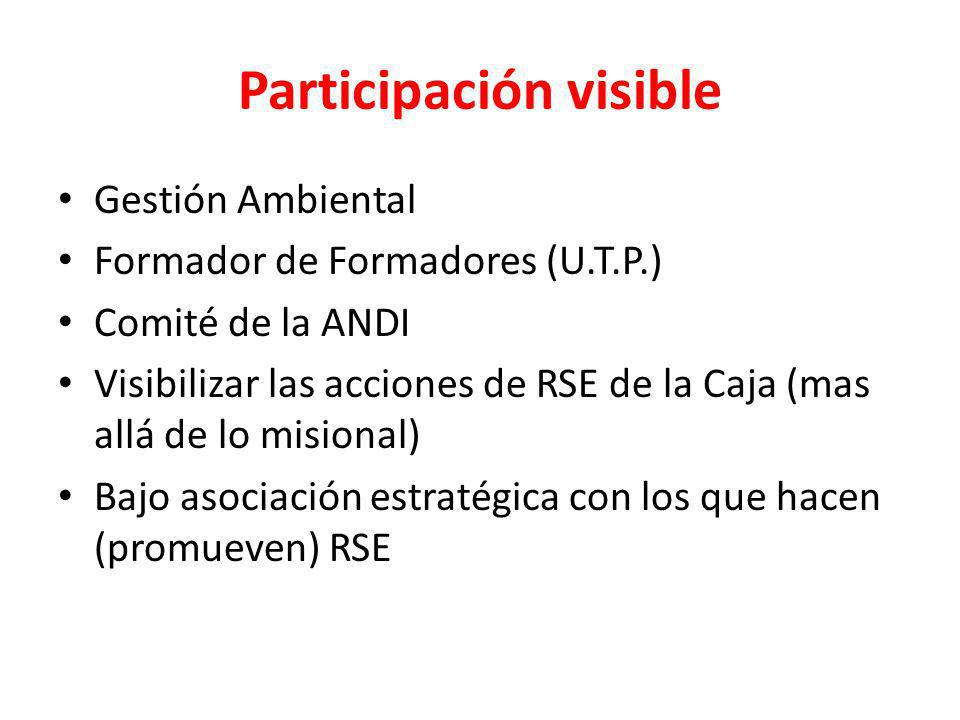 Participación visible