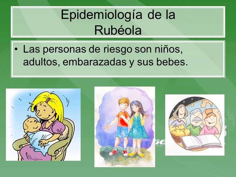 Epidemiología de la Rubéola