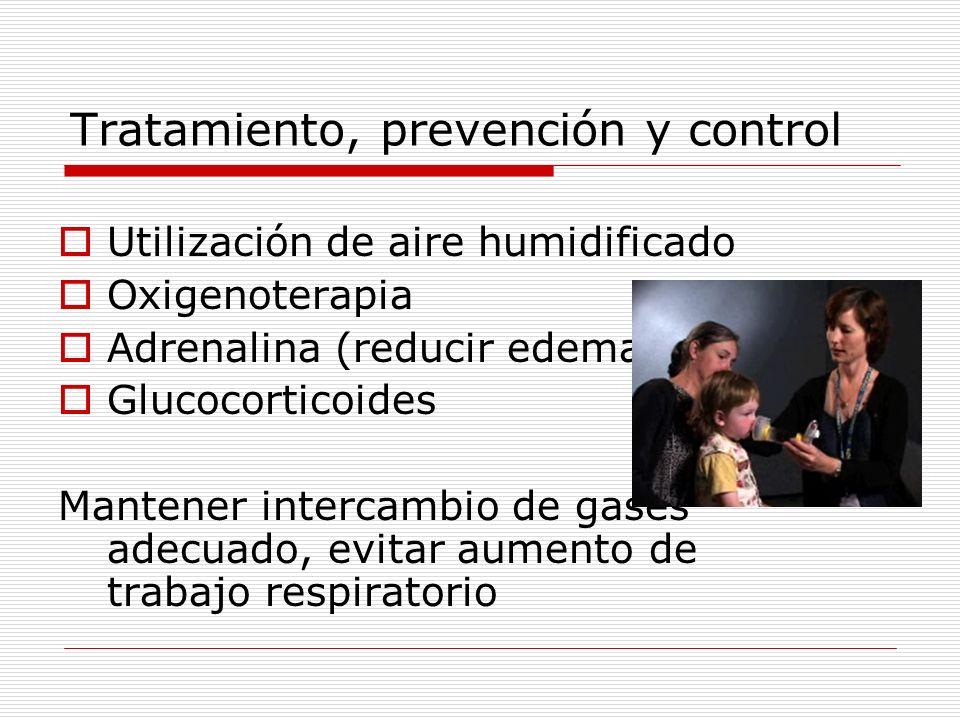 Tratamiento, prevención y control