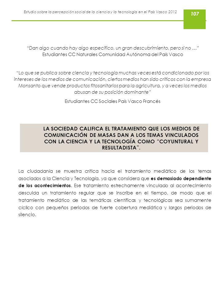 Estudiantes CC Sociales País Vasco Francés