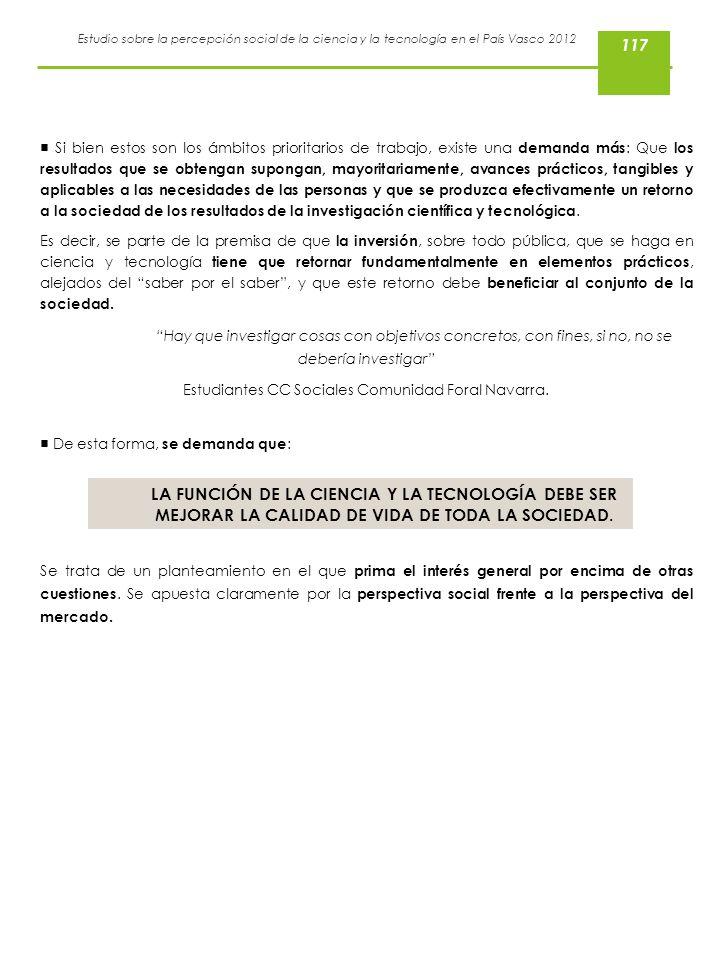 Estudiantes CC Sociales Comunidad Foral Navarra.