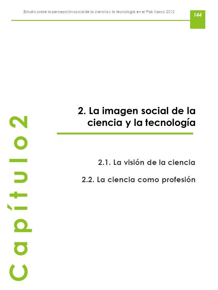 C a p í t u l o 2 2. La imagen social de la ciencia y la tecnología