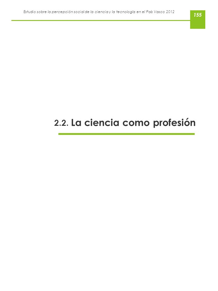2.2. La ciencia como profesión