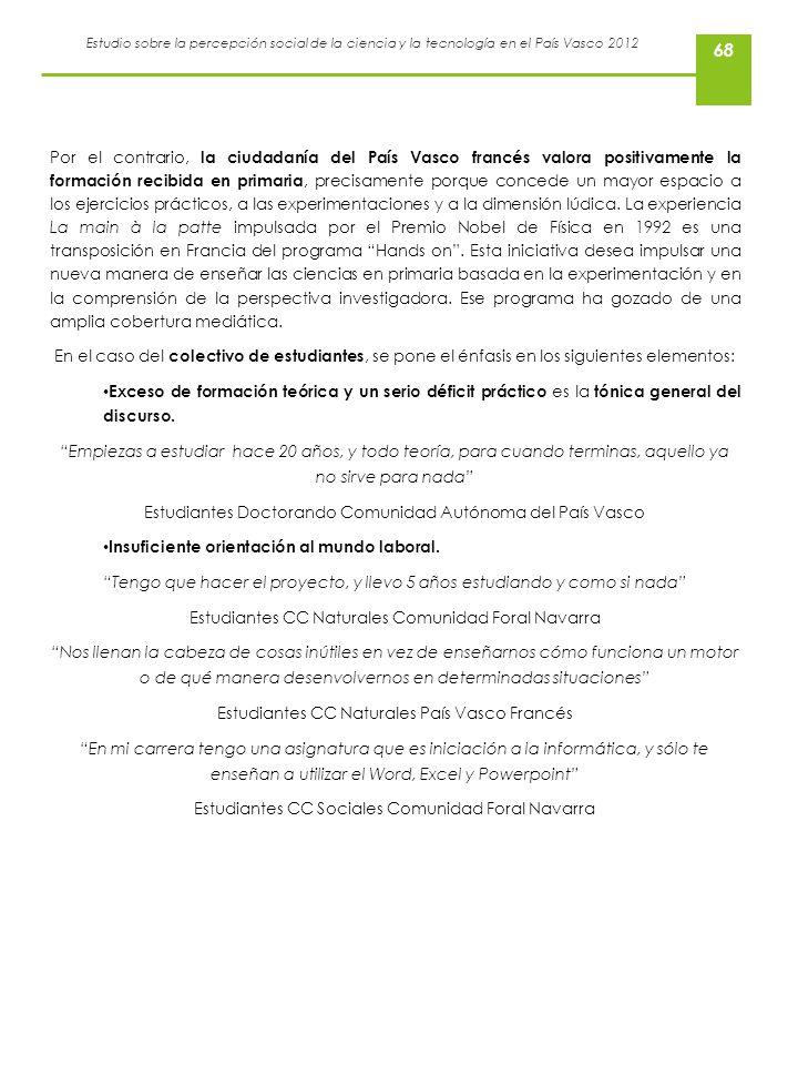 Estudiantes Doctorando Comunidad Autónoma del País Vasco