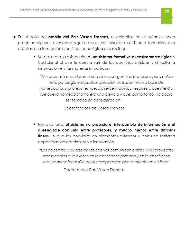 Doctorandos País Vasco Francés