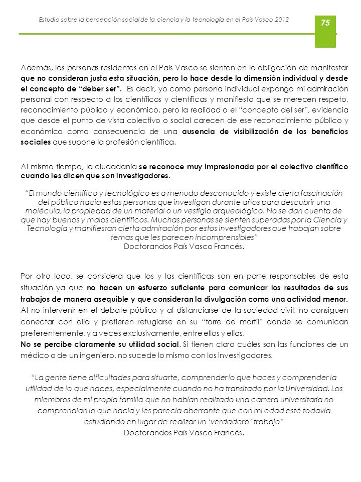 Doctorandos País Vasco Francés.