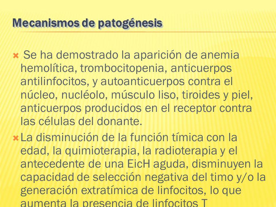 Mecanismos de patogénesis