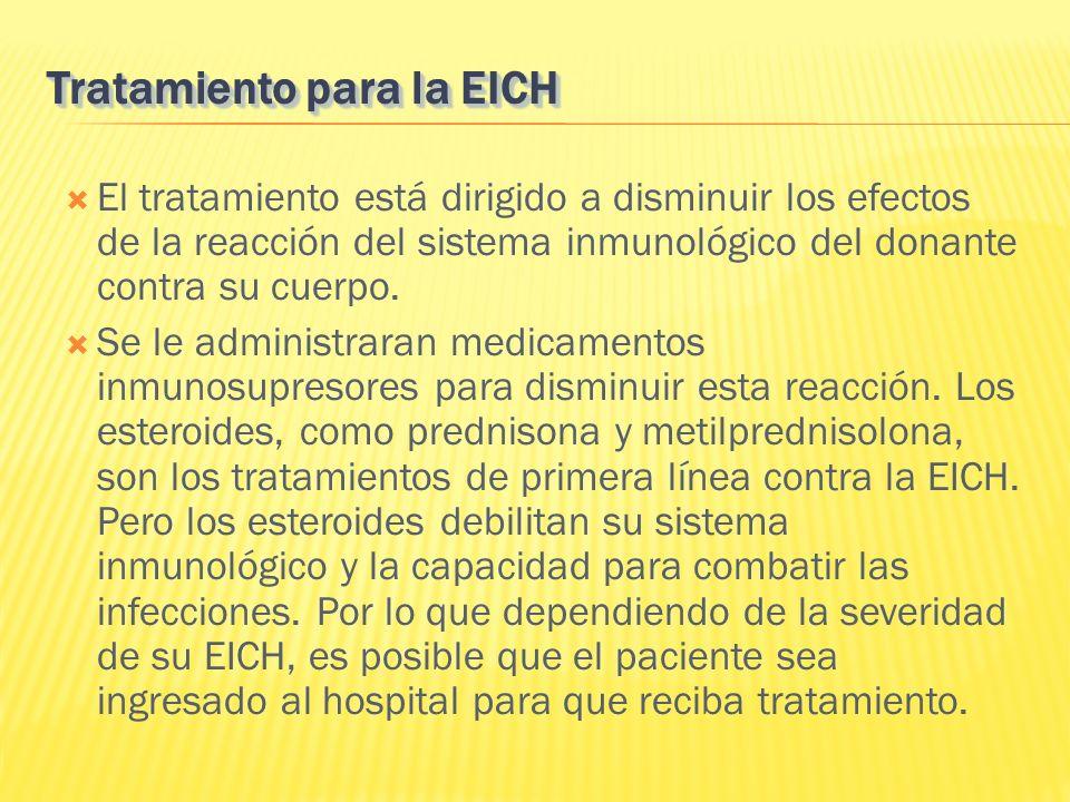 Tratamiento para la EICH