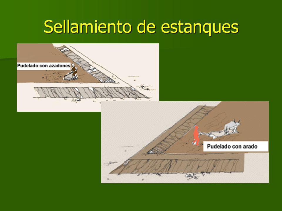 Sellamiento de estanques