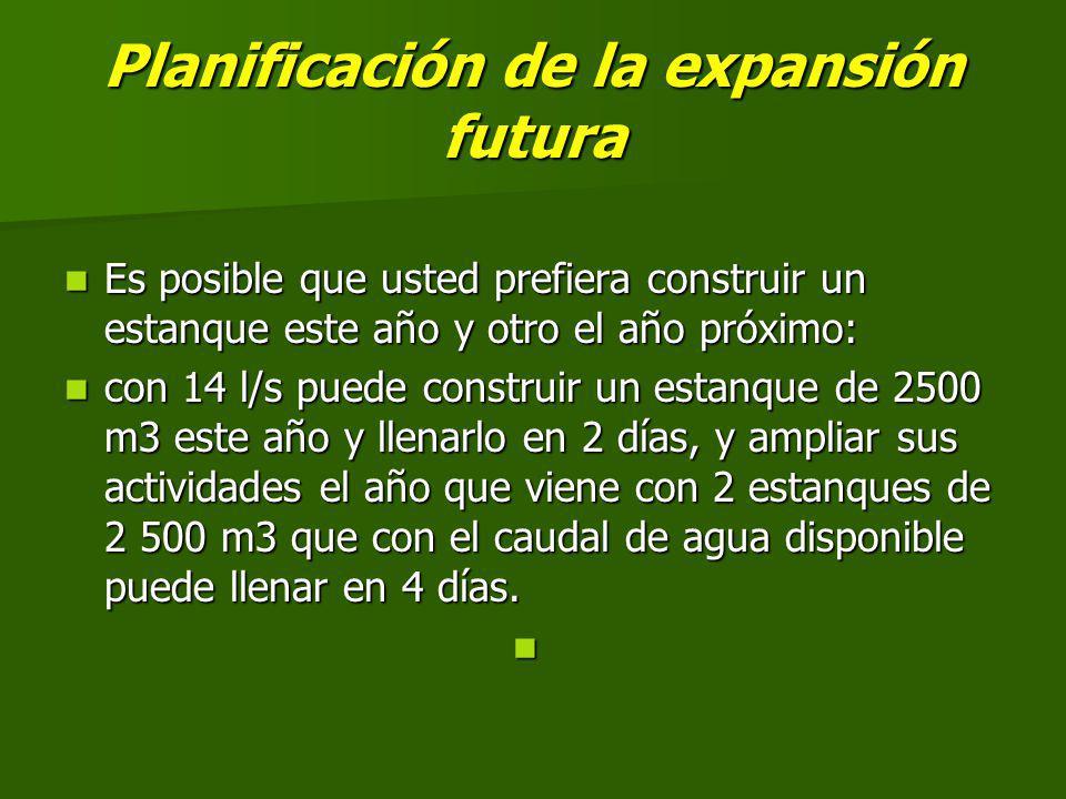 Planificación de la expansión futura