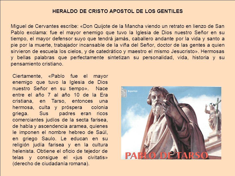 HERALDO DE CRISTO APOSTOL DE LOS GENTILES