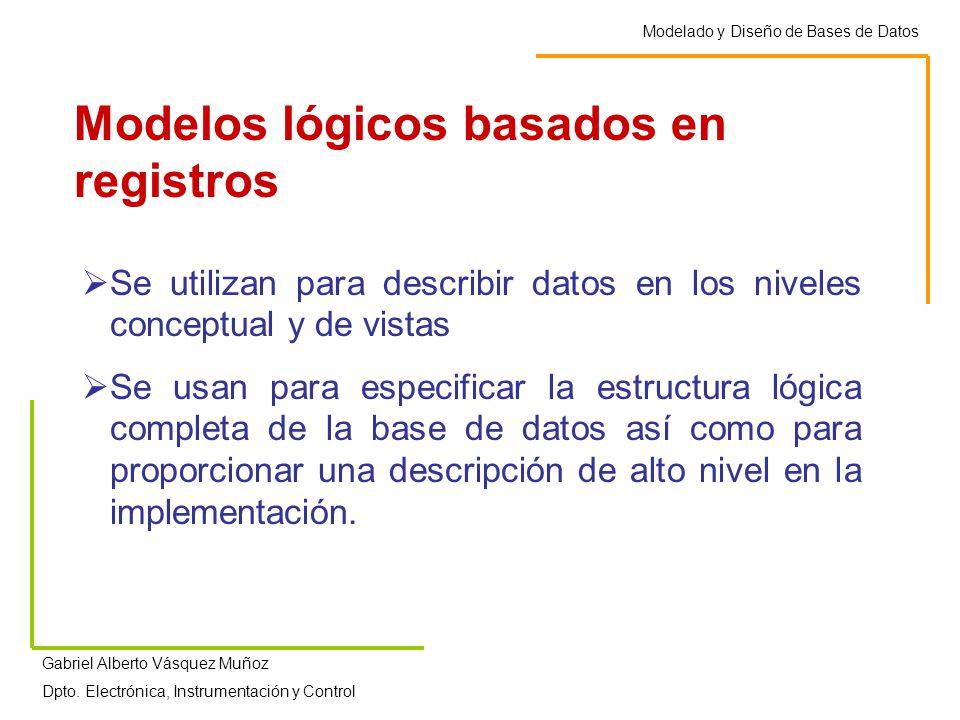Modelos lógicos basados en registros