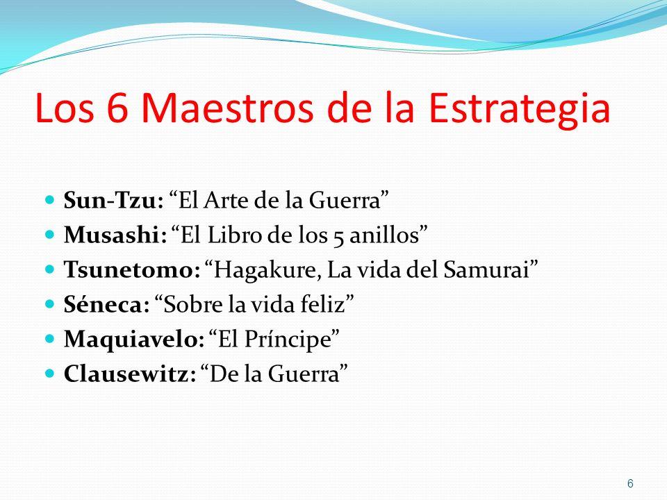 Los 6 Maestros de la Estrategia