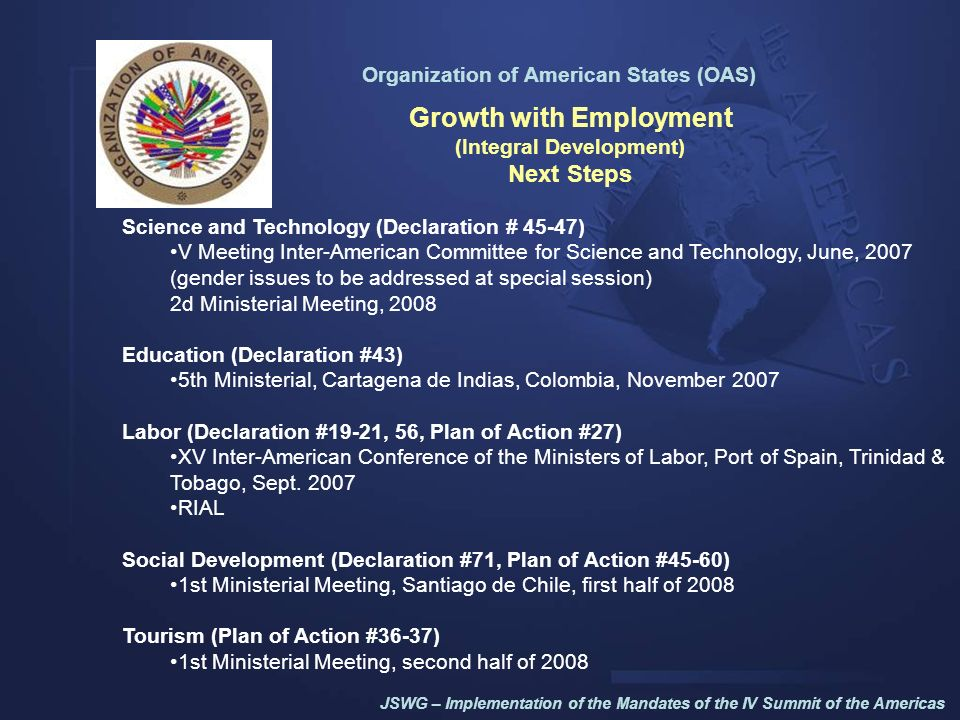 Growth with Employment (Integral Development)