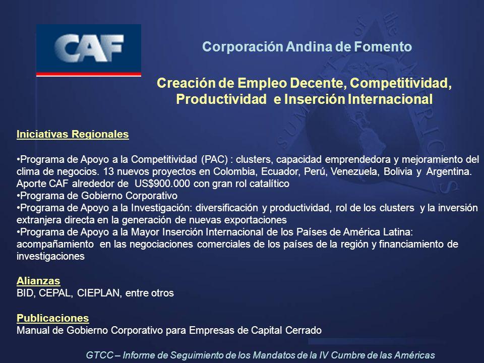 Corporación Andina de Fomento