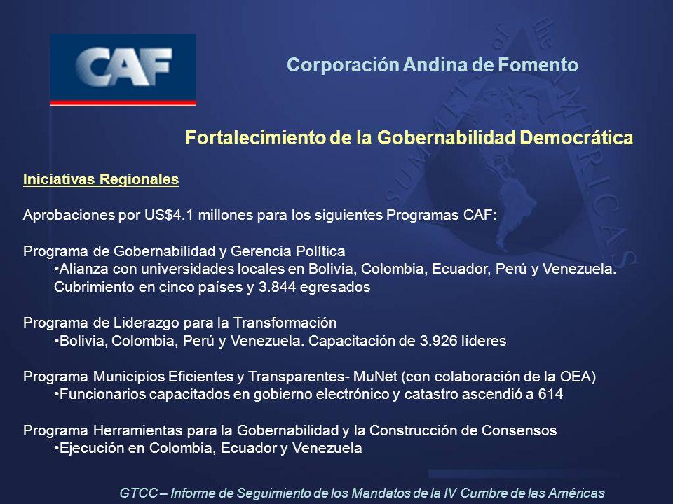 Fortalecimiento de la Gobernabilidad Democrática