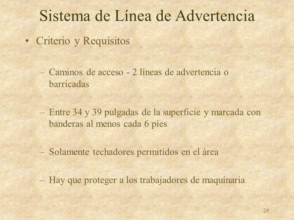 Sistema de Línea de Advertencia