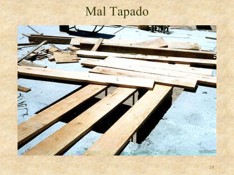 Mal Tapado Reference 1926.501(b)(4)