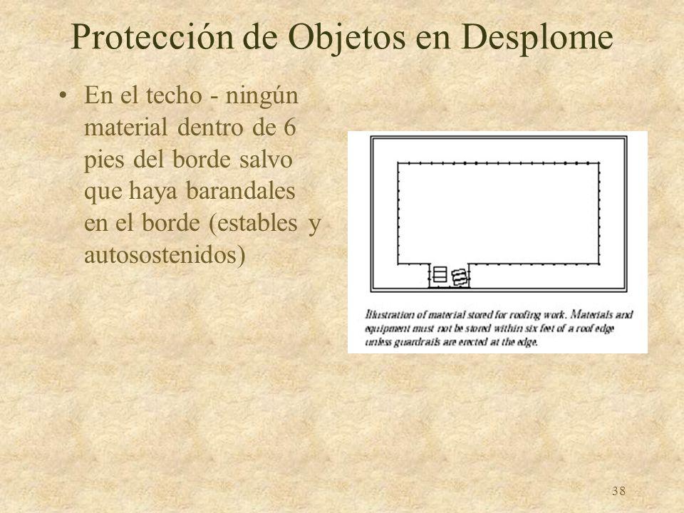 Protección de Objetos en Desplome