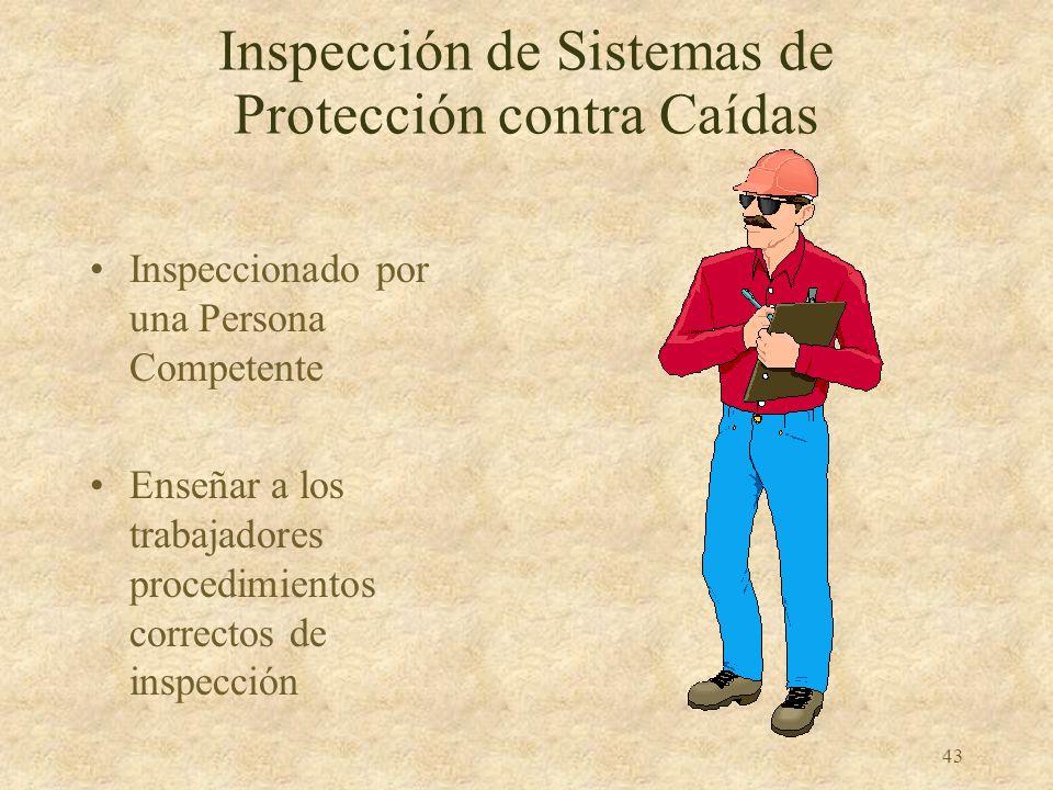 Inspección de Sistemas de Protección contra Caídas