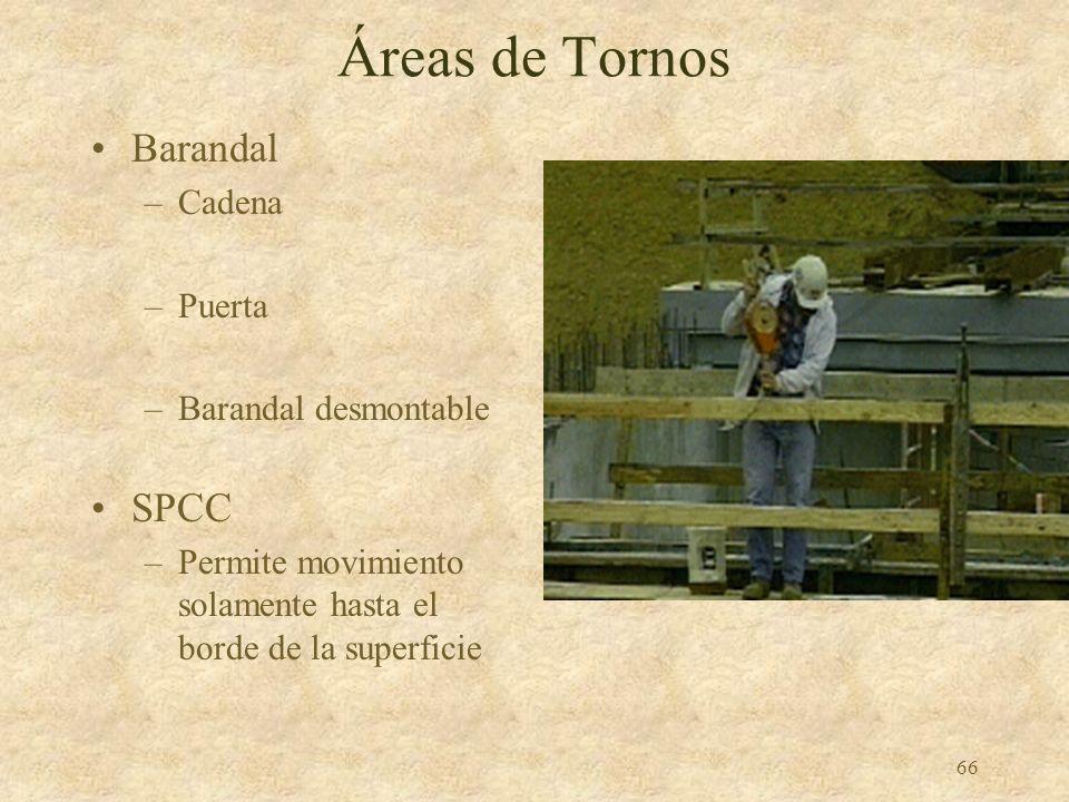 Áreas de Tornos Barandal SPCC Cadena Puerta Barandal desmontable