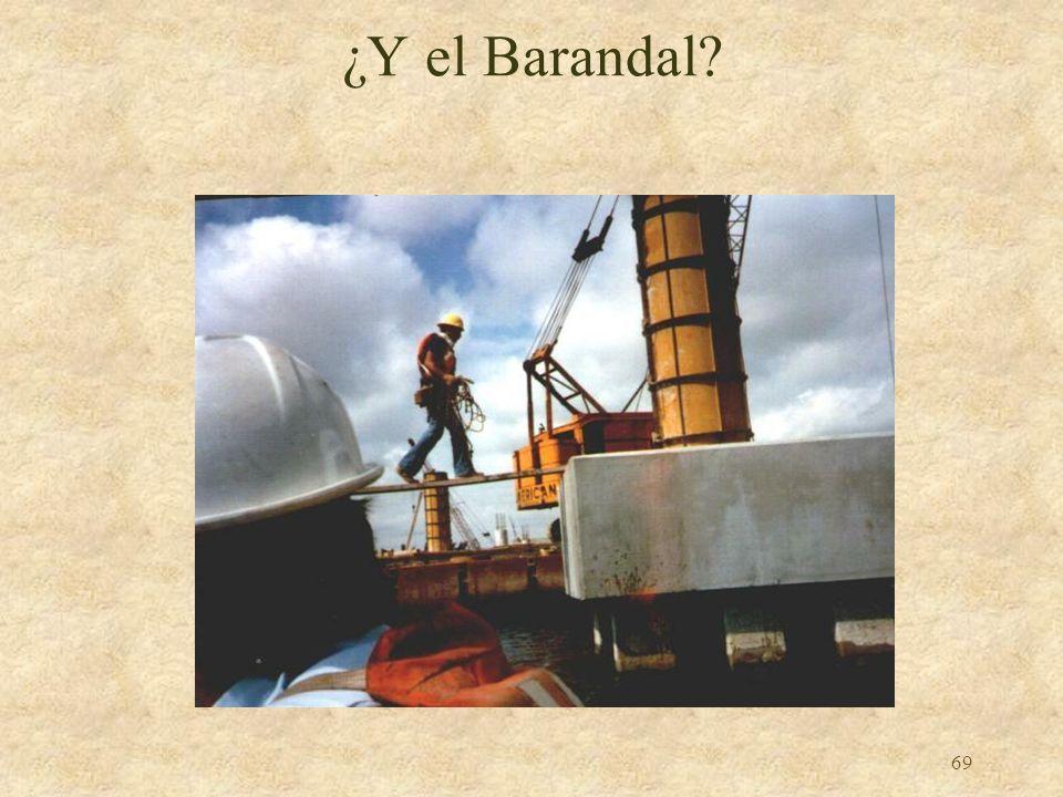 ¿Y el Barandal