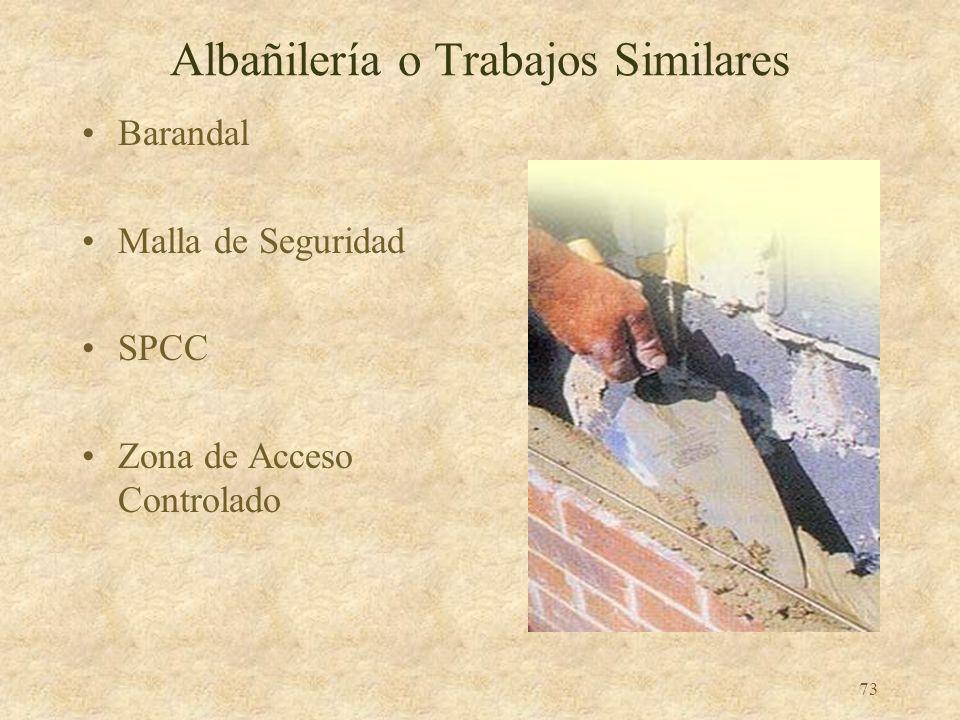 Albañilería o Trabajos Similares