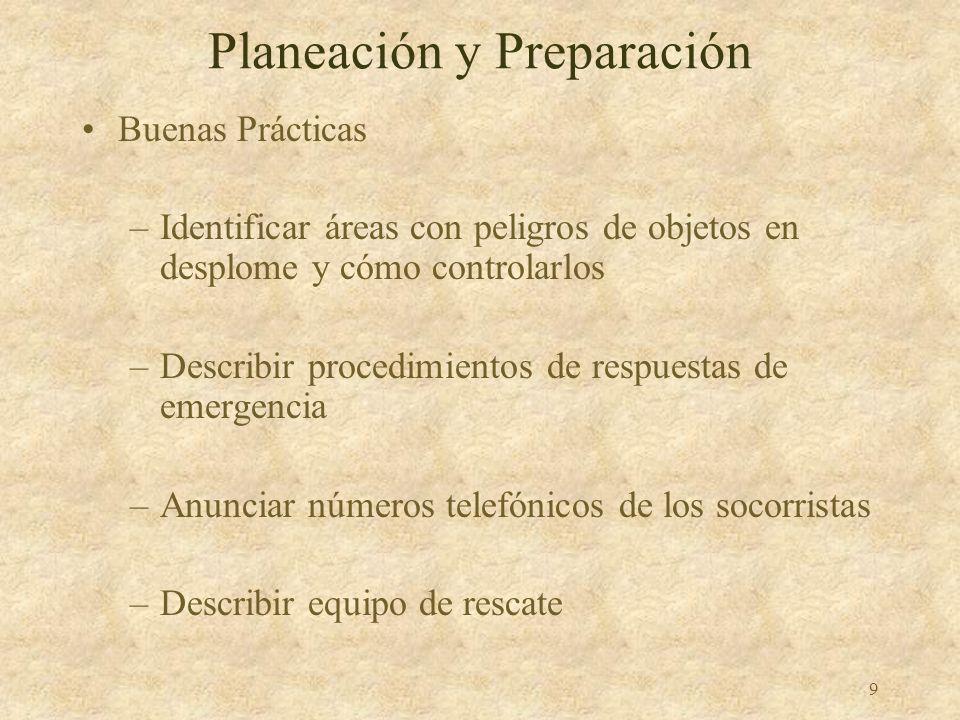 Planeación y Preparación