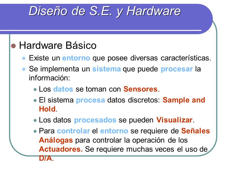Diseño de S.E. y Hardware Hardware Básico