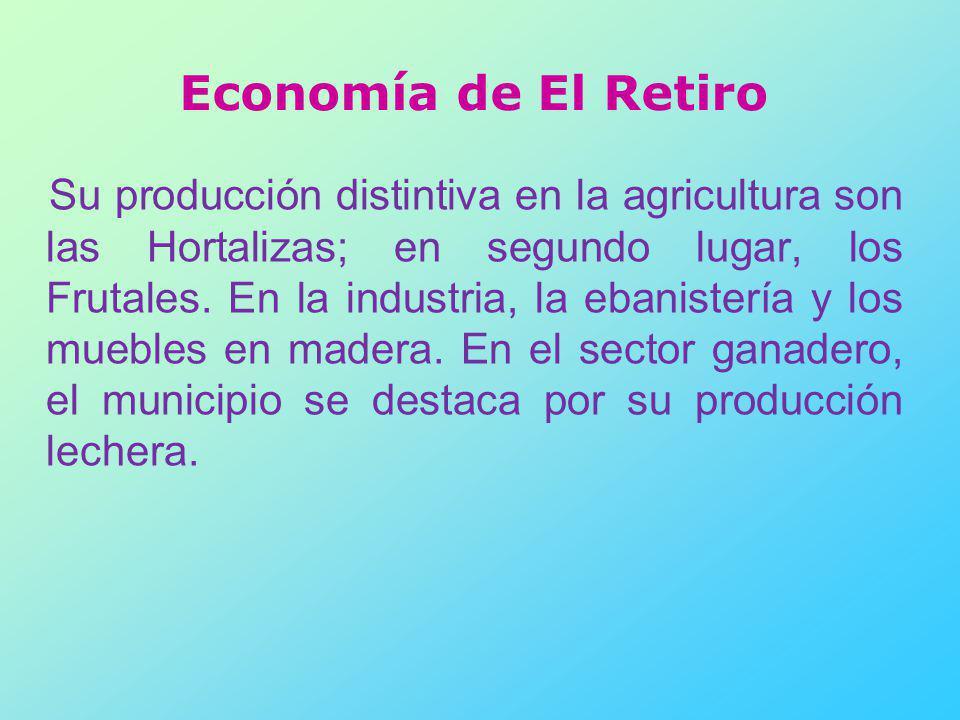 Economía de El Retiro
