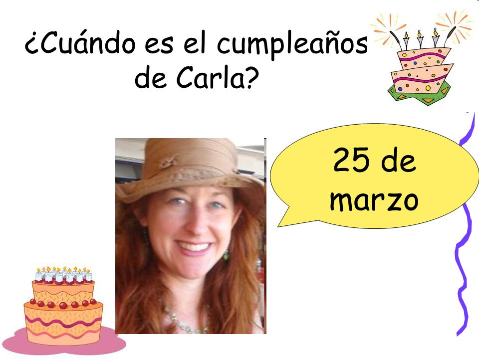 ¿Cuándo es el cumpleaños de Carla