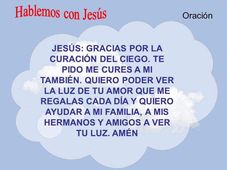 Hablemos con Jesús Oración
