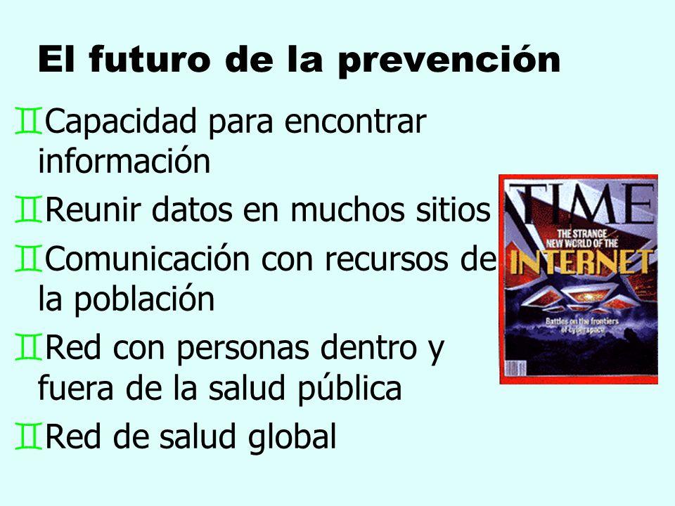 El futuro de la prevención