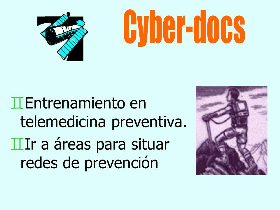 Cyber-docs Entrenamiento en telemedicina preventiva.