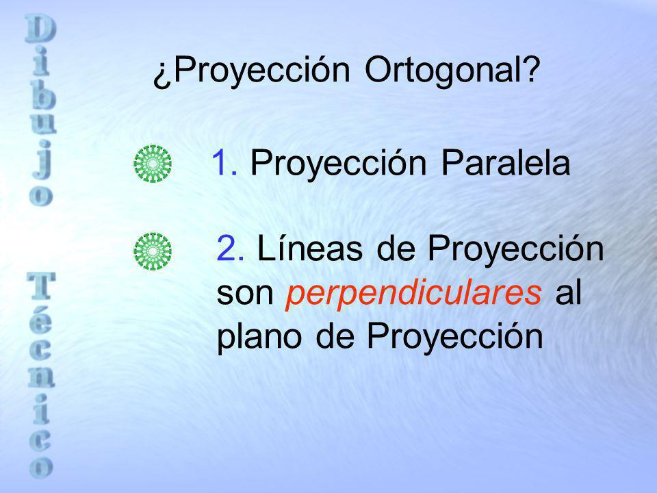¿Proyección Ortogonal