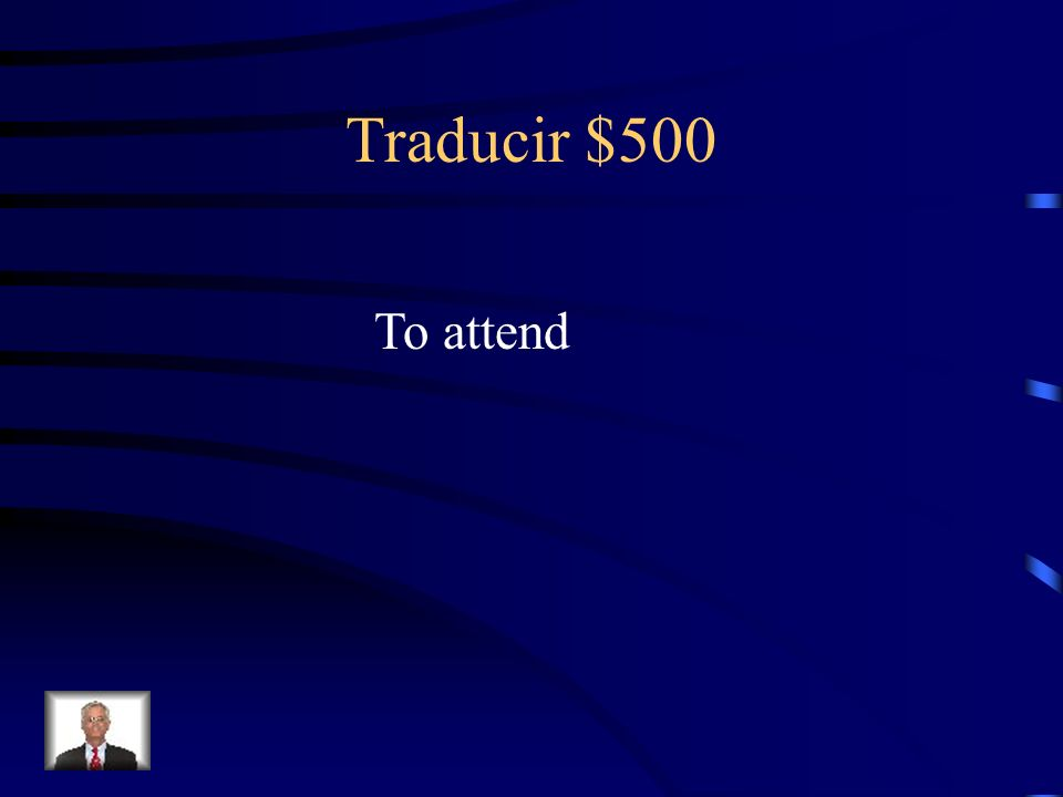 Traducir $500 To attend