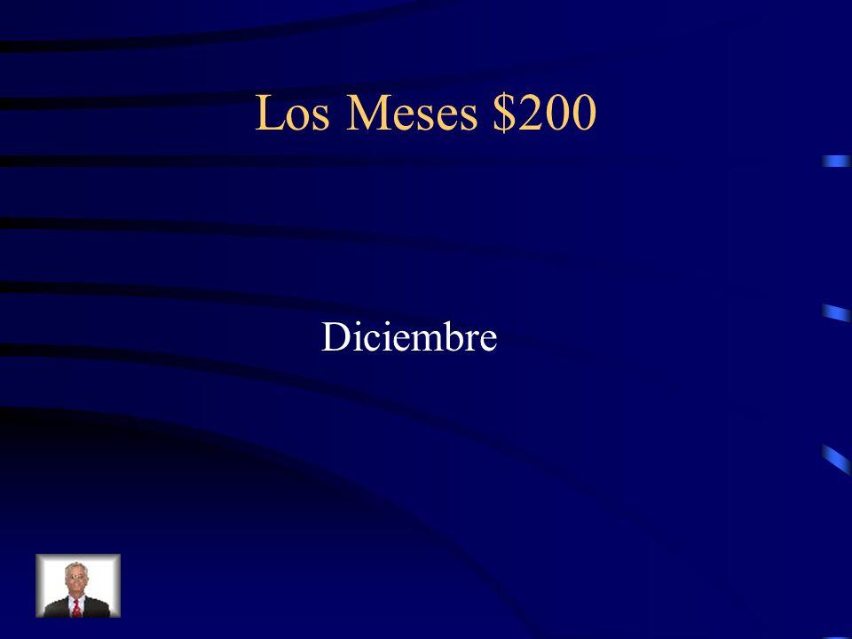 Los Meses $200 Diciembre