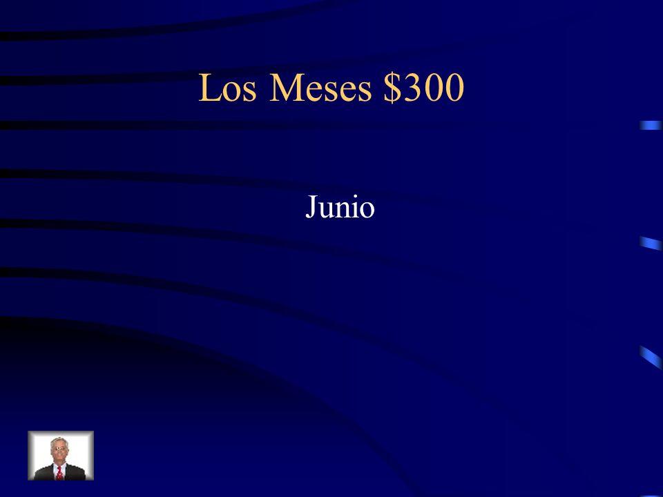 Los Meses $300 Junio