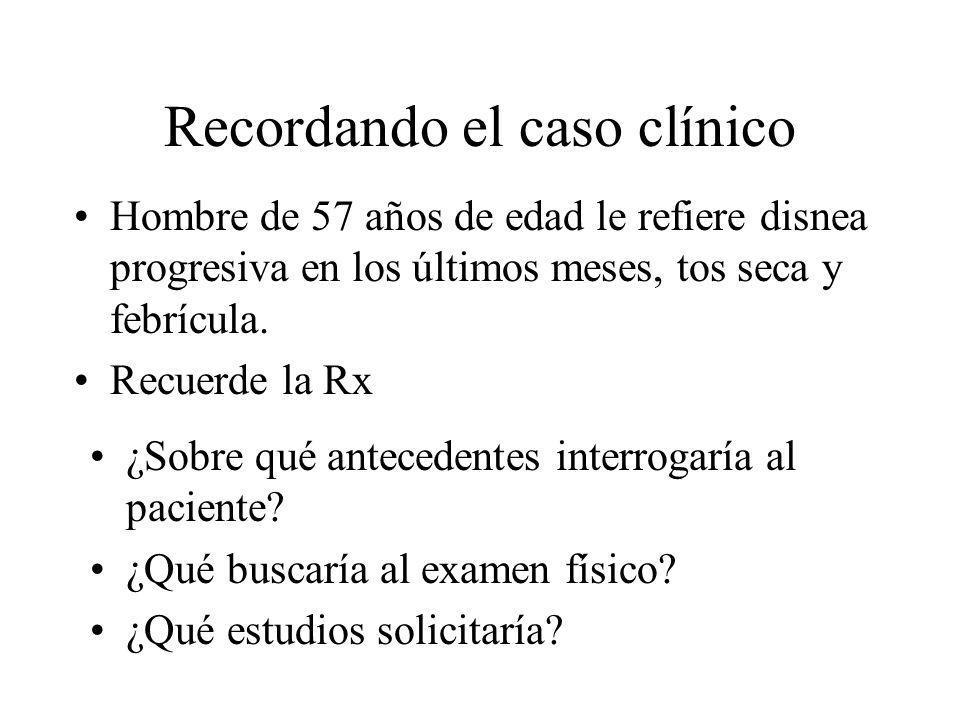 Recordando el caso clínico